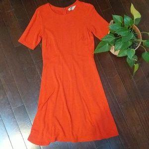 Loft Knit Poppy Red Dress